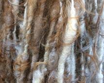 HANDSPUN Natural Icelandic Wool Lock Spun Bulky YARN