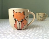 Reserved for Debra - Fox Coffee Mug