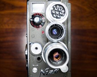 Stunning 1951 Nizo Heliomatic S2R 8mm movie camera