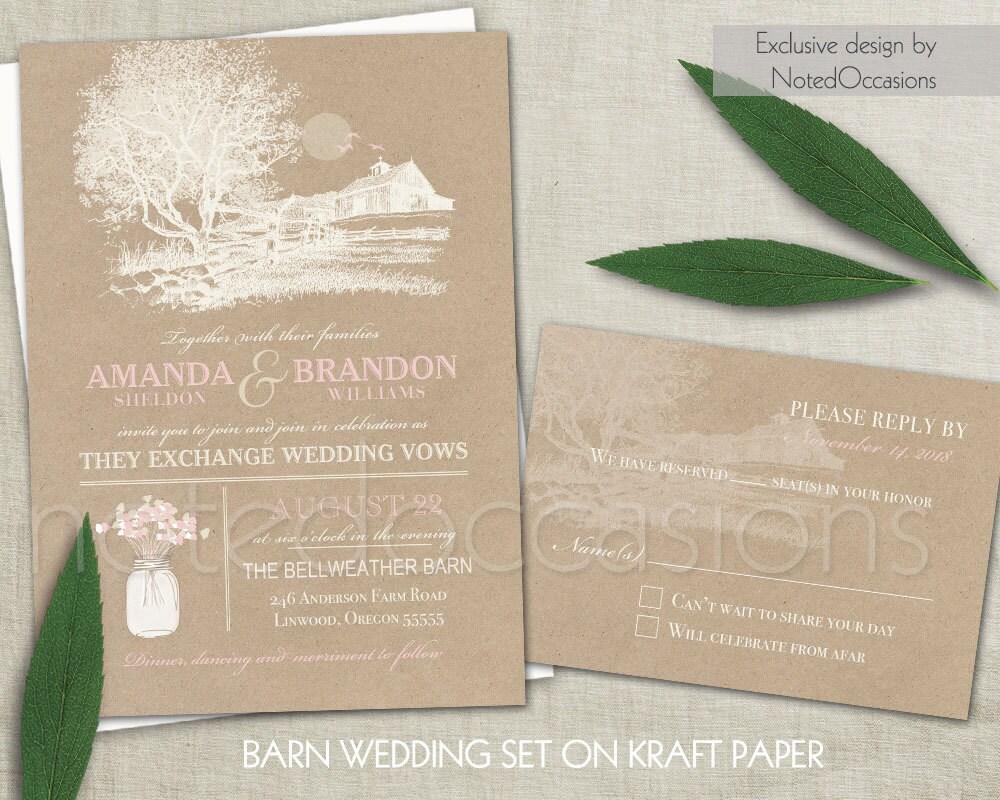 farm wedding invitation templates - 28 images - exclusive farm ...