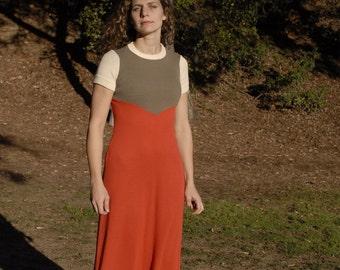 Vintage 'Hubba Hubba' Maxi Dress