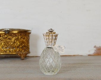 Perfume Bottle, Perfume Bottle Vintage, Pineapple Perfume Bottle, Avon Bottle, Avon Perfume Bottle