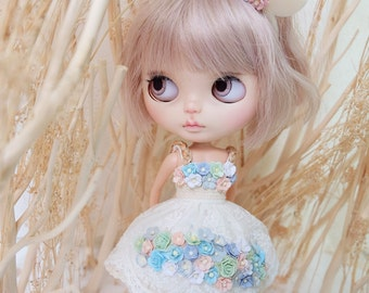 Blythe secret garden flowers Dress