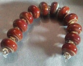 Grand Canyon Borosilicite glass beads set destash