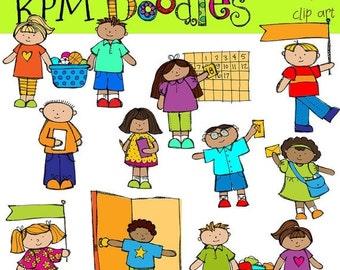 25% OFF KPM  Classroom helpers jobs Digital Clip art COMBO