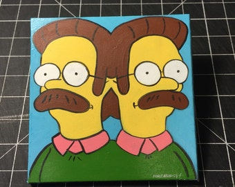 Double Flanders 3x3 Painting