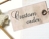 Custom Order: Stephanie Ramones