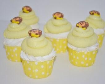 Monkey Farts Cupcake Bath Bomb