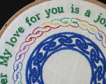 Love Hoop Art
