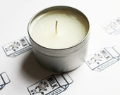 Milk Scented Candle - Vegan Candle - Homemade Candles - Natural Candles - Tin Candle - Container Candle