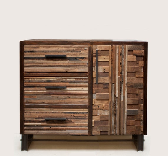Shenandoah Cabinets: Reclaimed Shenandoah Cabinet With Drawers