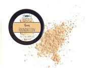 Natural Mineral Makeup - Ivory Nude Natural mineral face makeup cosmetic foundation - natural make up minerals