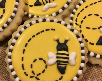 Sweet bee cookies, bee-a-utiful cookie set