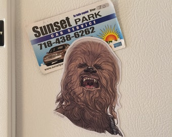 STAR WARS Chewbacca Fridge Magnet