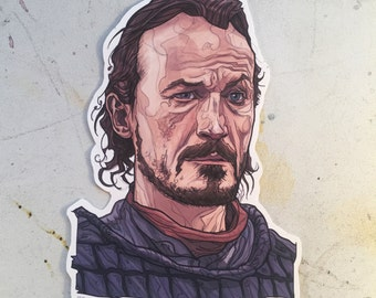 Bronn GAME of THRONES Waterproof Sticker