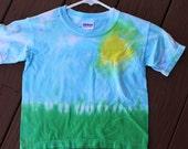 Kids landscape tee shirt size XS