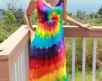 Tie Dye Long Dress Size Small