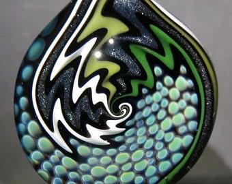 Boro Glass Sale Lampwork Pendant Switchback Wig Wag Implosion Borosilicate Bead Collection