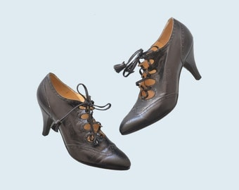 Hermes Black Heels size 6.5