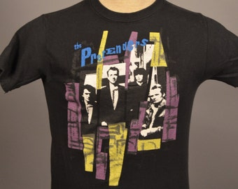 Vintage 1980'S THE PRETENDERS T-Shirt 80s Chrissie Hynde