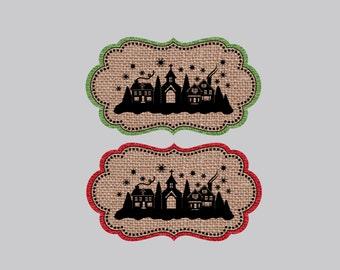 Set of 8  Christmas Tags  Holiday Tags  Gift Tags  Personalized Tags  Christmas Gift Wrap Tags  Holiday Gift Wrap Tags