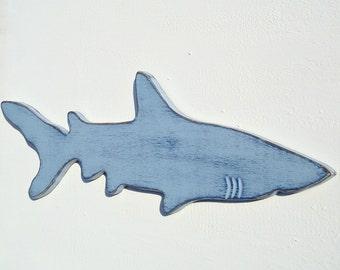 extra large wood shark