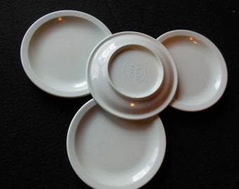 Dallasware Mint Green Plates 5 1/2 Inch, Small Plates, 4 Pieces Melmac
