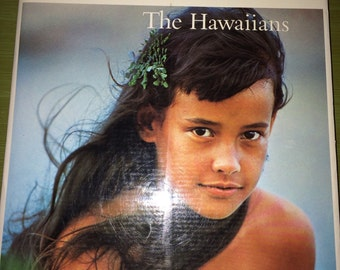 The Hawaiians Book. Vintage Hawaii Book. Coffee Table Book. 1970