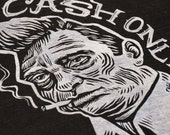 Cash Only Johnny Cash Unisex T-Shirt (Tri-Blend)