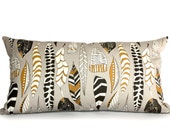 UNKNOWN FEATHERS- pillow cover- decorative cushion cover- tribal theme design