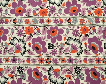 Floral stripe, Eastham Collection from Denyse Schmidt for Free Spirit Fabrics, 1/2 yd