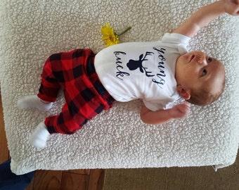 Young Buck Onesie - Baby Shower Gift