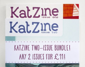 Katzine two-issue bundle!