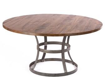 Madera Reclaimed Wood Dining Table   - Dark Walnut -  Custom Sizes & Finishes Available