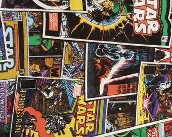 Star Wars Comic Strip Fabric 1 yard