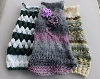 Dog Sweaters set nof three Medium 15 inches LABOR DAY SALE