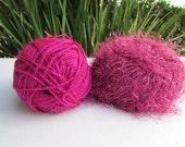 Bargain Sale Yarn: Pink Sparkle Yarn