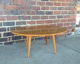 Paul Mccobb Mid-Century Modern Round Coffee Table