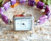 Purple Stretch Watch Band