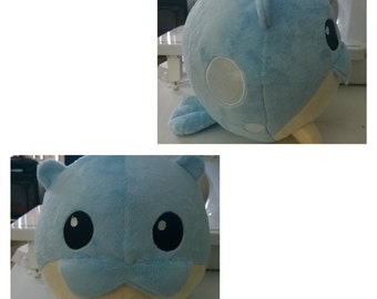 Spheal plush made to order