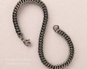 Stainless Steel Bracelet, Micro Half Persian Chainmail