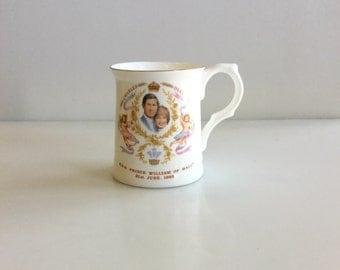 1982 ROYAL Family Commemrotive Prince William Mug
