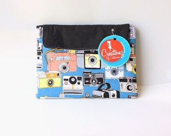 ipad mini sleeve - ipad mini case - ipad mini cover- Vintage cameras