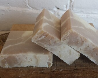 Coconut Cream  Soap, Handmade soap, coconut soap, cold process soap, Feminine soap, Cream soap