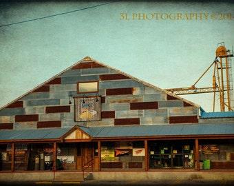 Texas Photography Industrial Fine Art Photograph Rustic Home Decor Art Print