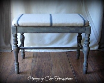 RESERVED~Farmhouse Style Bench~Ottoman
