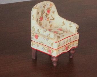 SALE! Doll House Miniature Arm Chair
