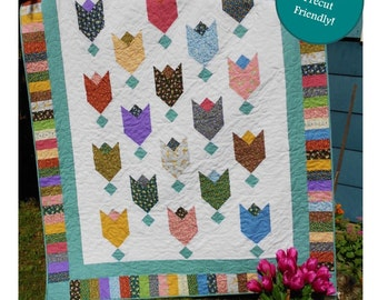 Layer Cake Quilt Pattern -  Dutch Touch - PDF INSTANT DOWNLOAD