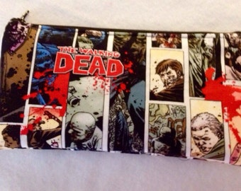 The Walking Dead Pencil Case/cosmetic pouch-Ready to ship