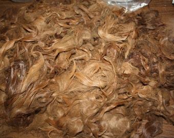 Brown/ Brunette Suri SALE // Raw Suri Alpaca
